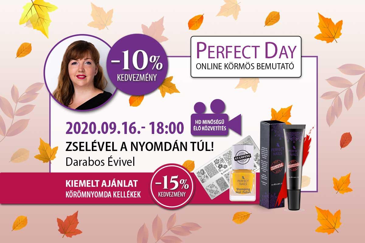 Zselével a nyomdán túl! - Darabos Évi - Perfect Day Online
