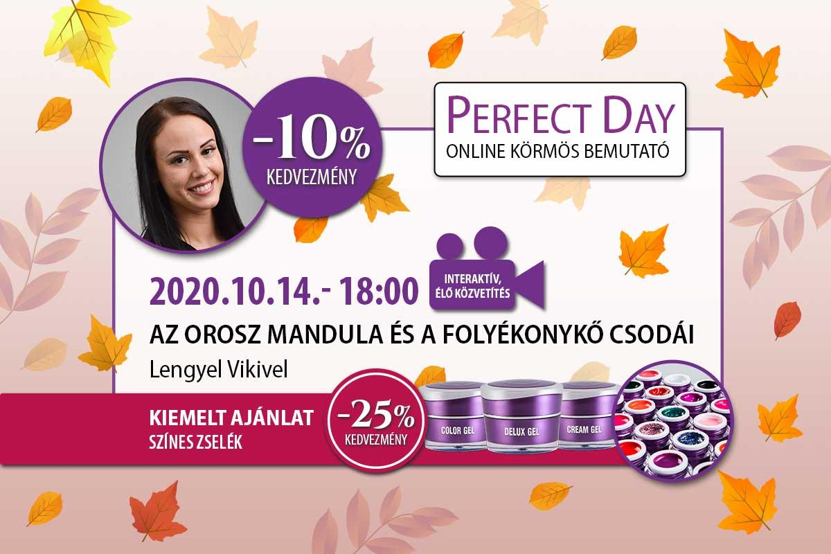 Az orosz mandula és a folyékonykő csodái - Lengyel Viki - Perfect Day Online