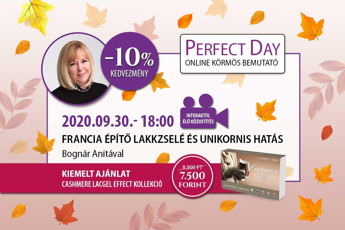 Francia építő lakkzselé és unikornis hatás - Bognár Anita - Perfect Day Online