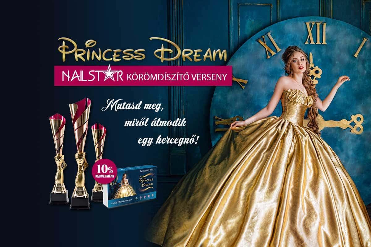 Nail Star Körömdíszítő Verseny – Princess Dream 2020 – A Tél Hercegnője