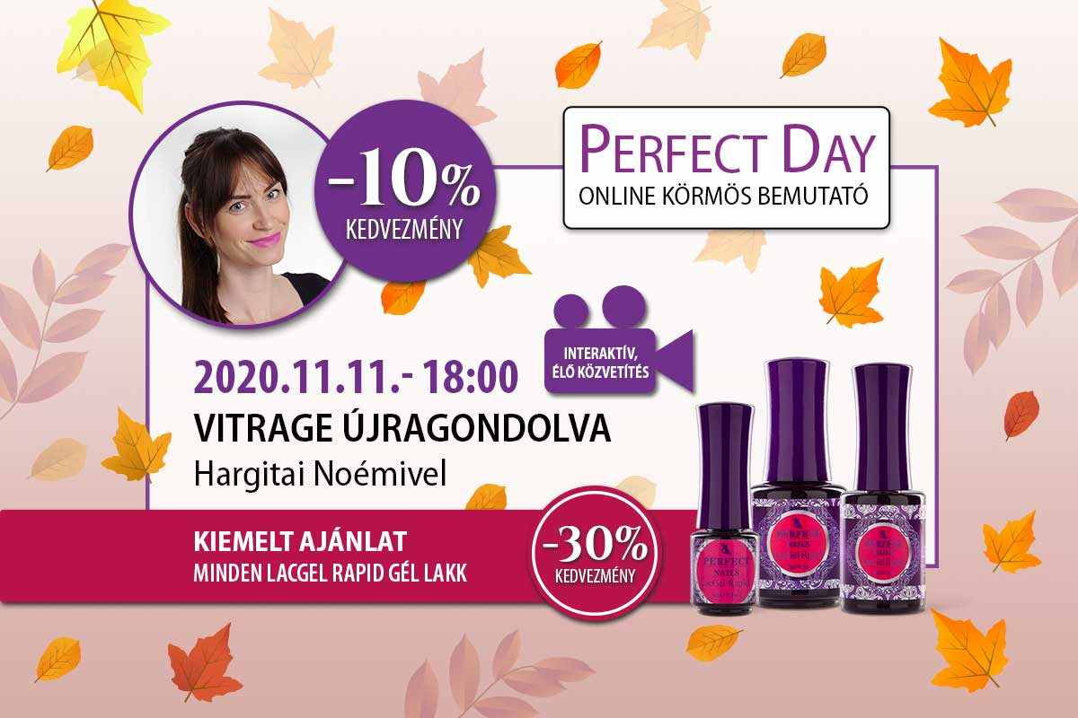 Vitrage újragondolva - Hargitai Noémivel - Perfect Day Online