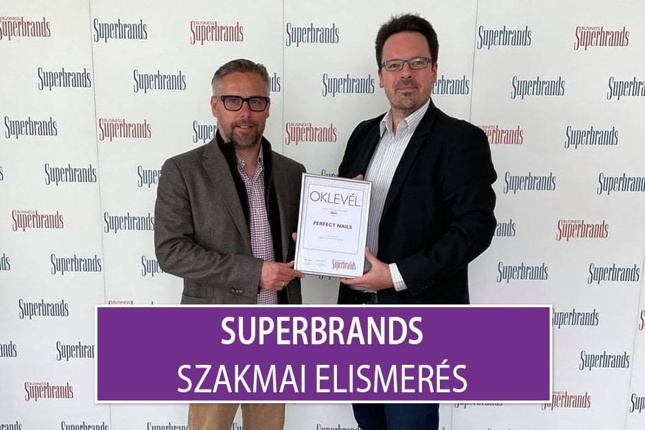 Superbrands - Szakmai elismerés a Perfect Nails-nek!