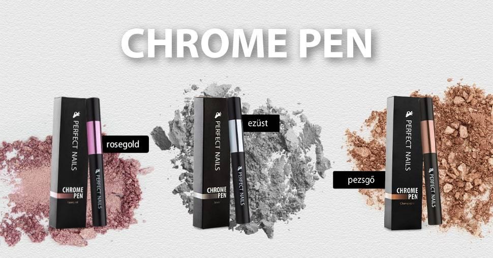 Chrome Pen - Krómpor Körömdíszítő Toll