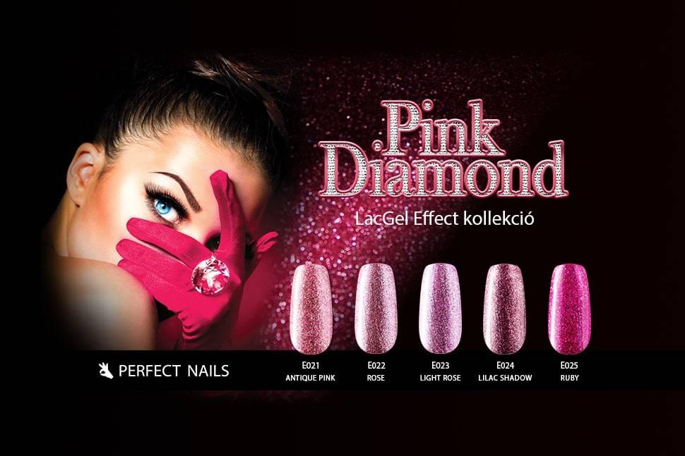 LacGel Effect - Pink Diamond Gél Lakk Szett