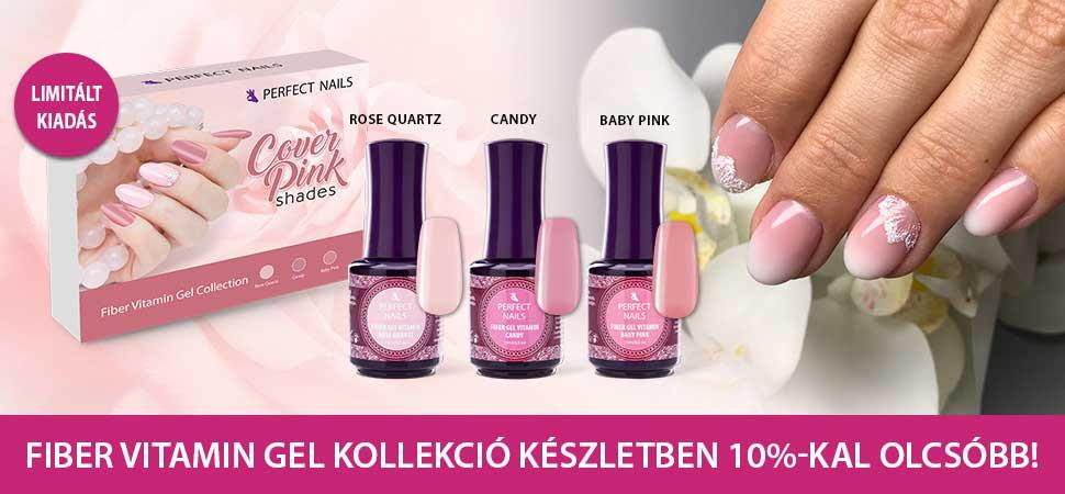 Cover Pink Shades - Fiber Vitamin Gel Kollekció