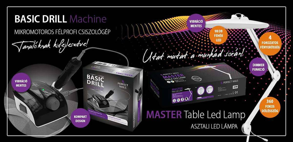 MASTER TABLE LED LAMP - ASZTALI LED LÁMPA