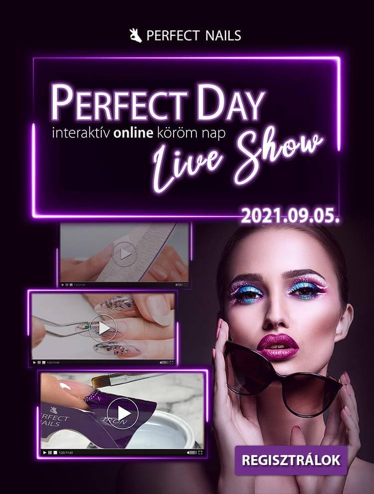 Perfect Day Live Show - Regisztráció