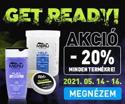 Get Ready! Webshop Akció