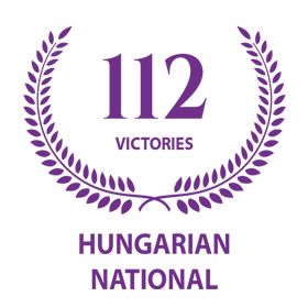 112 Victories on Hungarian National Competitions