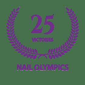 25 Medals Nails Olympics