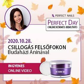Csillogás Felsőfokon - Budaházi Aninával - Perfect Day Online