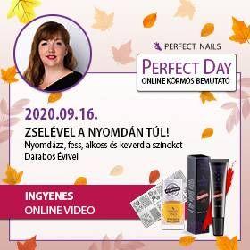Zselével a nyomdán túl - Darabos Évivel - Perfect Day Online