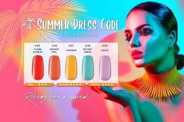 Summer Dress Code Gél lakk kollekció