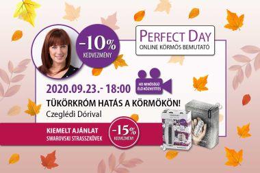 Tükörkróm hatás a körmökön! - Czeglédi Dóri - Perfect Day Online