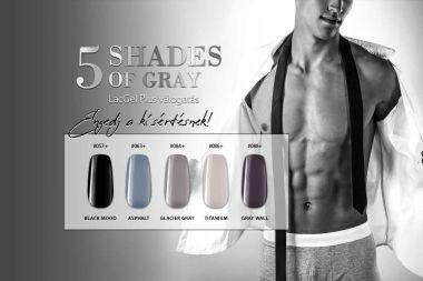 5 Shades of Gray Gél Lakk Válogatás – Engedj a kísértésnek!