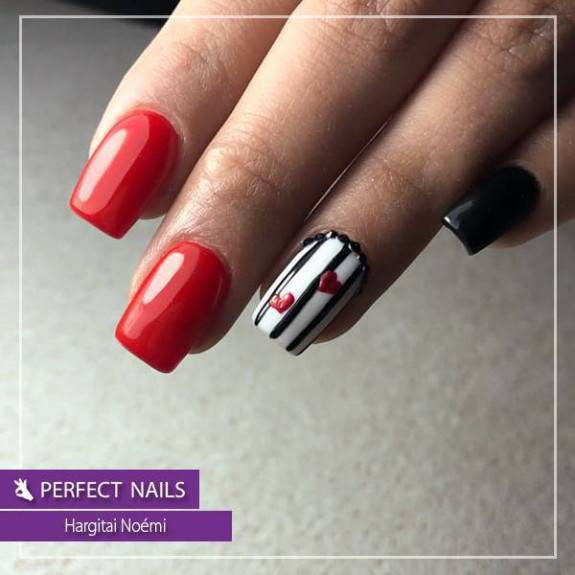 LacGel #007 Gél Lakk 4ml - Hot Red