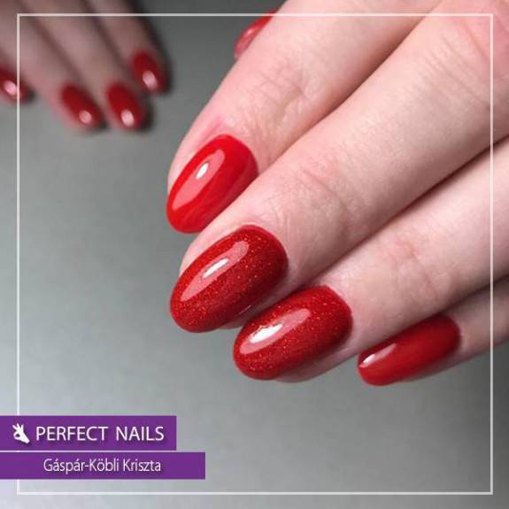 LacGel #007 Gél Lakk 8ml - Hot Red
