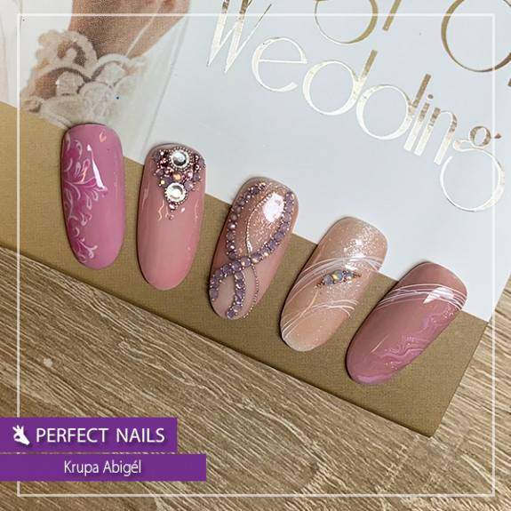 LacGel #001 Gél Lakk 4ml - Baby - Best of Wedding