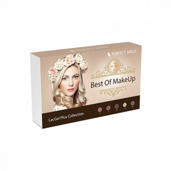 LacGel Plus - Best of MakeUp Gél Lakk szett