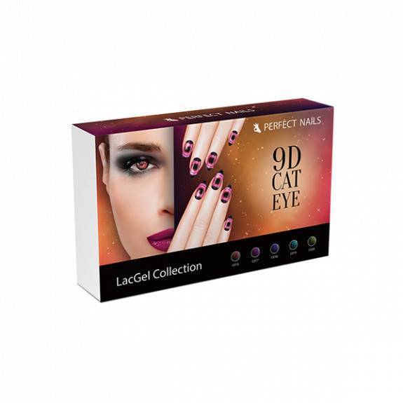 LacGel Cat Eye 9D Gél Lakk szett